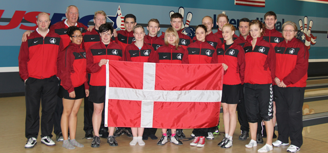Denmark National Team trains at the ITRC