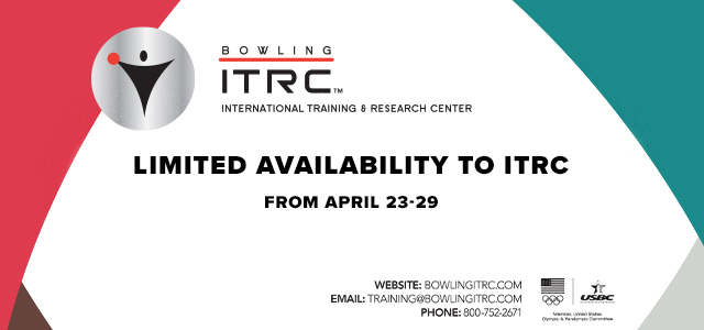 Limited Availability to ITRC from April 23-29