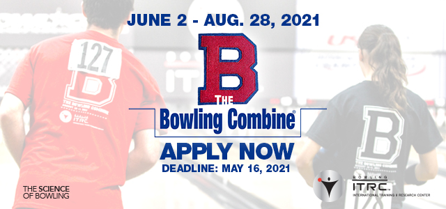 Register now for the Bowling Combine – 2021 Athlete Assessment Program