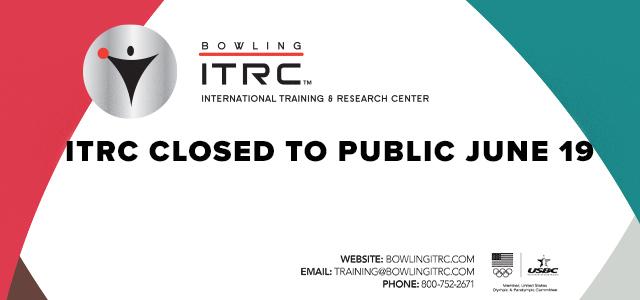 ITRC closed to public June 19